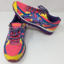 Asics Extreme 33 Multi-Color Pink Purple Woman's Running Shoes Size 7.5 ... - $36.52