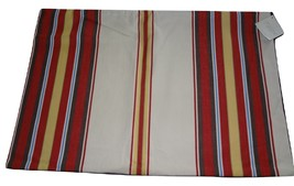 NWT Pottery Barn Royce Striped Cotton Twill Lumbar Pillow Cover - $19.95