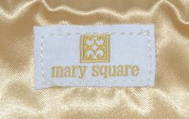 Mary Square 7952 Off White Gold Zipper Tassel Movement Pouch image 5