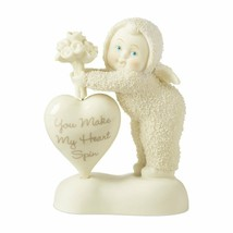 "Department 56 Snowbabies ""You Make My Heart Spin"" Heart spins New Valent... - $54.45"