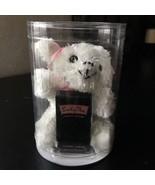 LUCKY* .18 oz Bottle LUCKY YOU Mini Perfume PLUSH DOG White+Pink Ribbon ... - $29.99