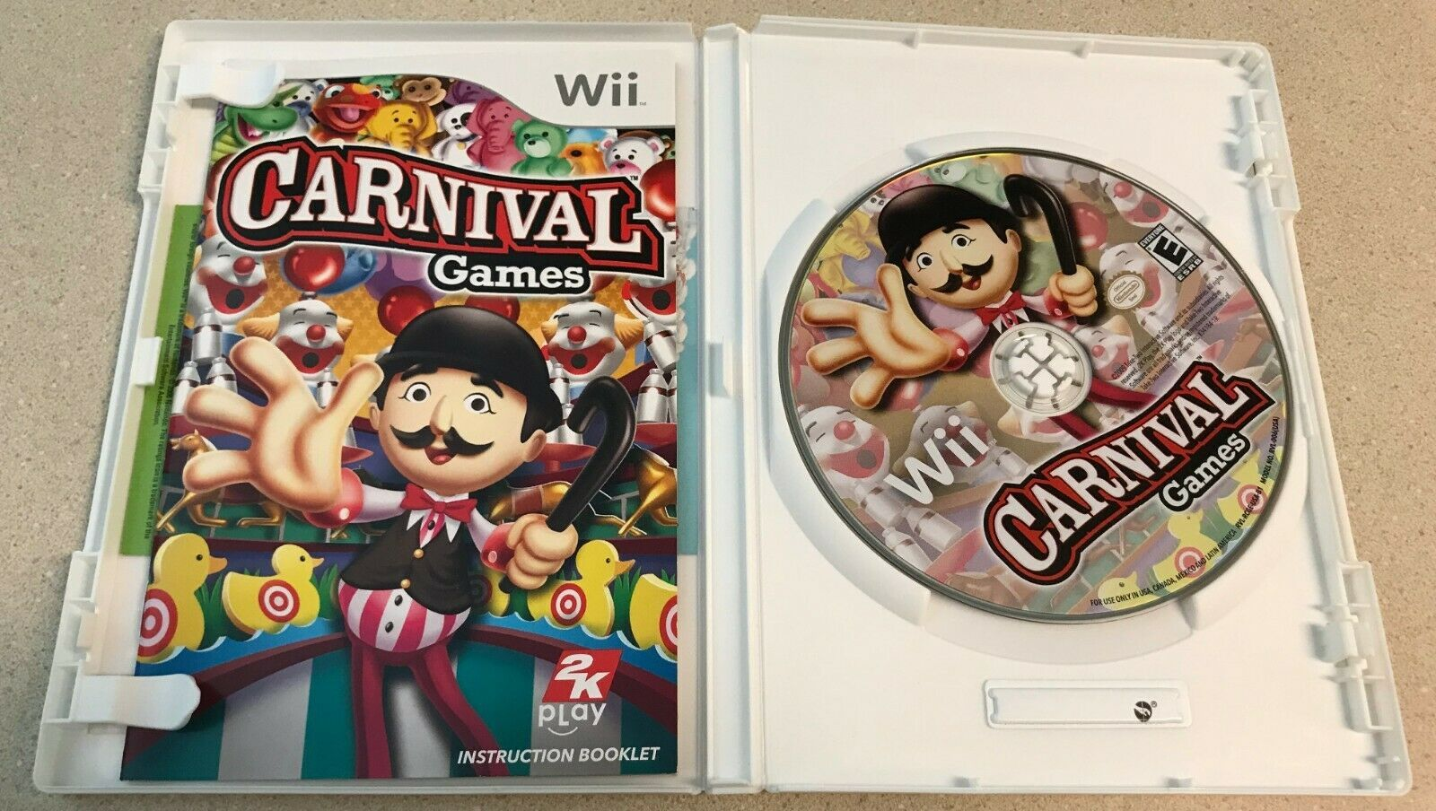 Carnival Games (Nintendo Wii, 2007) Game image 3