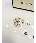 GUCCI GHOST HEART SHAPED RING Silver    SIZE 6.75 - $299.00