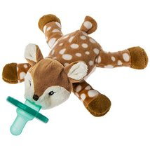 Mary Meyer WubbaNub Soft Toy and Infant Pacifier, Amber Fawn - $18.99