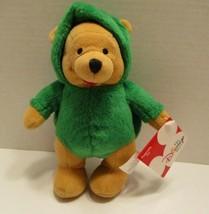 Disney Store Dress Up Turtle Winnie the Pooh Plush Bear 8 Inch New - $12.61