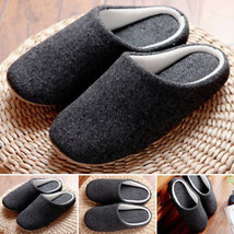 Comfy Slippers Shoes House Soft Non-slip Solid Anti-slip Men's Winter 1 ... - $32.05