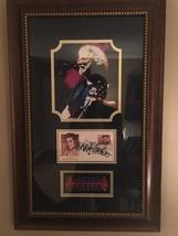 Graceland postcard with Jerry Garcia autograph. - $1,000.00