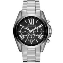 Michael Kors Men's Watch Stainless Steel Bracelet Chronograph Black Dial MK5705 - $204.00