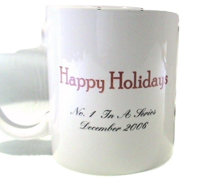 Philip Morris Christmas Johnny The Bellhop No.1 In A Series Dec. 2006 Cup/Mug