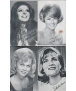 "Bobbie Gentry, Shepard, Davis, McGuire 3 1/2"" X 5 1/2"" B/W Picture  by B... - $1.75"