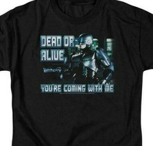 RoboCop Dead or Alive Retro 80's action movie graphic t-shirt MGM119 image 2