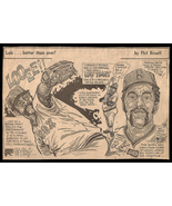Luis Tiant Red Sox Looee Sports Phil Bissell Newspaper Clipping Baseball... - $11.99