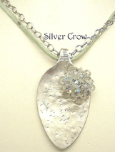 Vintage Spoon & Crystal Necklace - $19.99