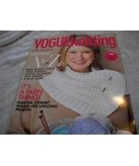 Vogue Knitting Holiday 2011 Magazine - $10.00