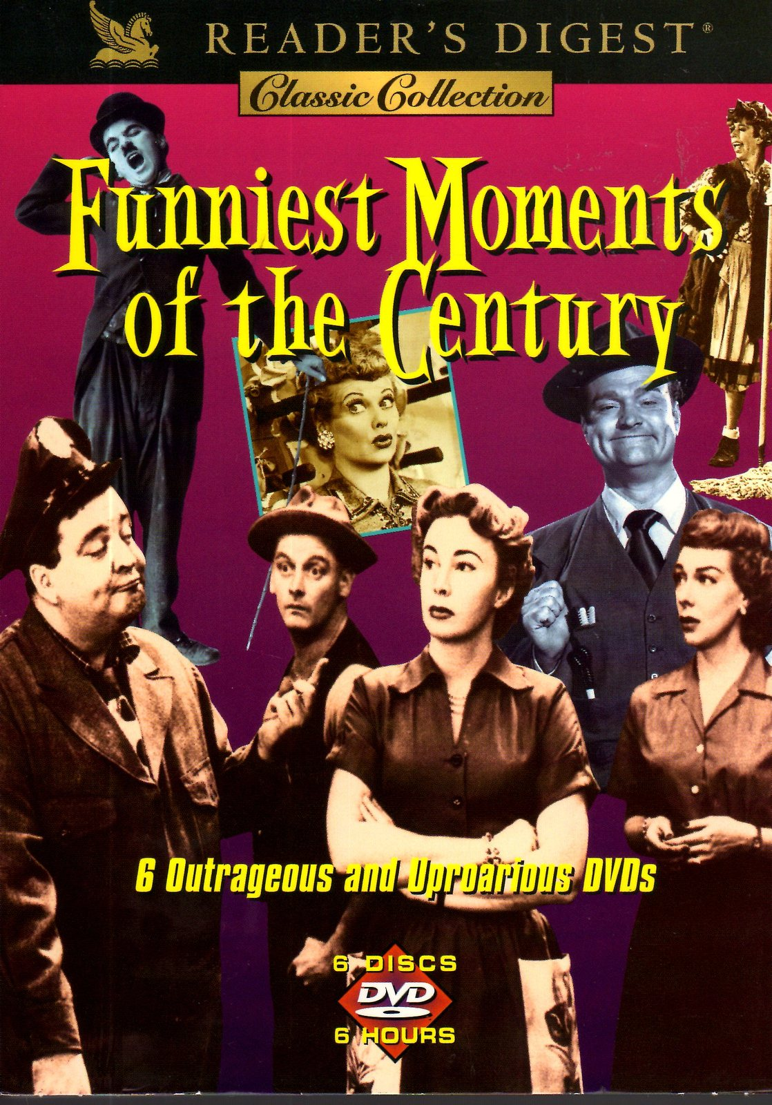 DVD Raeders Digest Classic Collection - FUNNIEST MOMENTS of The Century(DVD Set)