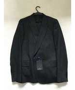 Paul Smith PS Dark Charcoal Stripe 1 button Single Breasted Suit 40 / 50 - $409.74