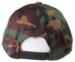Akomplice Camo Black Flamingo Mob Est. 2004 Label Patch Snapback Baseball Hat NW image 4