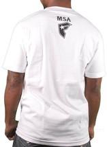 Famous Stars & Straps White/Black Men's MSA Kills Manny Santiago T-Shirt Skate image 2