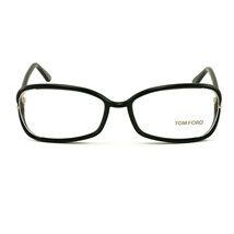 Tom Ford TF 5203 Eyeglasses FT5206 005 Black 55 16 130 - $71.06