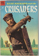 King Richard and the Crusaders Four Color Comic Book #588 Dell Comics 19... - $25.07