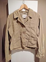 Aeropostale Corduroy Jacket - Women's L - Tan - Perfect Condition - $13.99