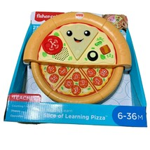 Fisher Price Laugh And Learn Slice Of Learning Pizza Toy Counting Shapes New - $25.73