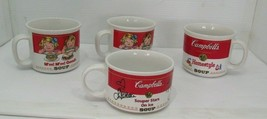 Set of THree 1969 Campbell Soup Mugs & One 1998 Souper Stars on Ice Mug - $34.60