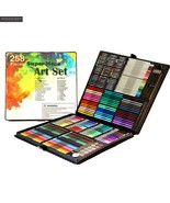 KEVIN&SASA® 258in1 Color Pen Set Quality Stationery Luxury Wooden Gift - $74.91