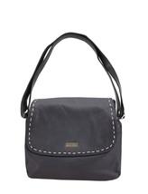 Women's Marcellino Chloe Leather Purse Shoulder Strap Black Crossbody Bag image 2
