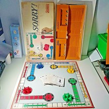 Sorry Board Game Vintage 1964 Parker Brothers - $14.35