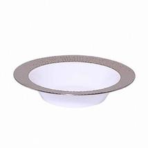 12 Oz. Silver Touch Plastic Soup Bowls - ₨7,548.06 INR