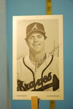 Autographed Dale Murphy Atlanta Braves Major League Baseball Player Prom... - $9.99