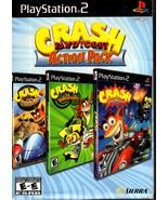 Crash Bandicoot Action Pack Sony PlayStation 2 - Set of 3 Programs - $42.95