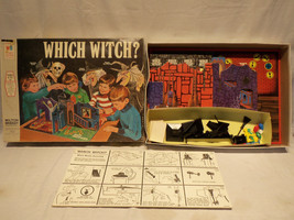 Vintage 1970 Milton Bradley WHICH WITCH? Halloween Haunted 3D Board Game... - $118.75