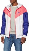 New XL Nike Windrunner Jacket White Concord Pink Huarache Hoodie 727324-... - $84.99