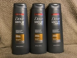 Dove Men+Care 2-in-1 Shampoo + Conditioner Thick & Strong, 12 oz, 3 Pack - $38.99