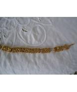 """Fashion  Bracelet  Gold Color With  Elephants 7"""" L - $9.99"""