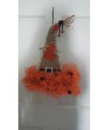 Handmade Scarecrow 17 in.Fall Door Decor - $20.00