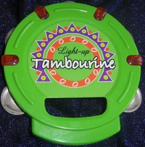 Green Tambourine Light-up Toy by Scientific Toys,LTD - $10.00