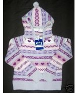 NWT KIDS PLAY STRIPED PULLOVER HOODIE TOP GIRL ... - $15.54