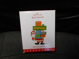 "Hallmark Keepsake ""Santa's Big Surprise"" 2017 Ornament NEW - $7.72"