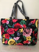 NWT Vera Bradley Commuter Tote  IN HAVANA ROSE Laptop Travel Bag - $66.99