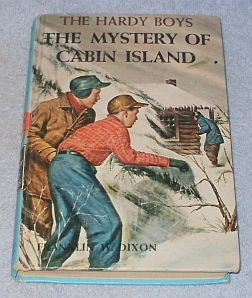 Primary image for  Hardy Boys Book Mystery of Cabin Island Franklin Dixon 1966