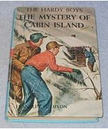 Hardy Boys Book Mystery of Cabin Island Franklin Dixon 1966 - $5.95