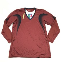 PUMA Italia National Football Team Soccer Jersey Mens Size Large Dry Fit... - $19.13