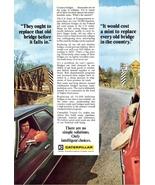 1977 Caterpillar Bridge Construction work services print ad  - $10.00