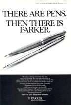 1977 Parker Classic & Substantial Parker Pen print ad - $10.00