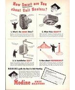 1947 Modine brand Unit Heaters advertising print ad  - $10.00