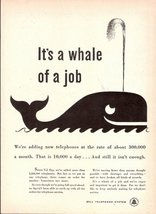 1947 Bell Telephone System services advertising print ad - $10.00