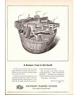 1947 Southern Railway System advertising print ad - $10.00